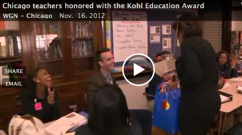 WGN Kohl Education Prize